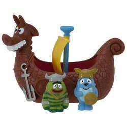 Yo Gabba Gabba! Bath Vikings Bath Toys