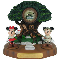 Disney Animal Kingdom Mickey Mouse and Minnie Alarm Clock