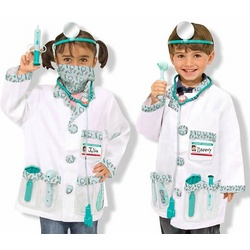 Doctor Costume Role Play Set