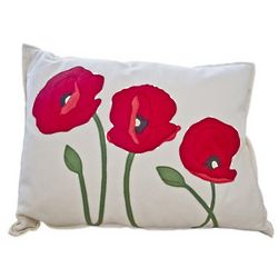 Poppy Trio Pillow