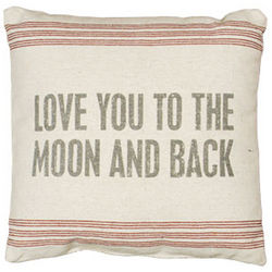 To The Moon Vintage Pillow Sack