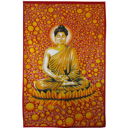 Buddha & Bubbles Tapestry