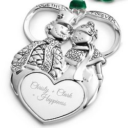 Heirloom First Couple Christmas Ornament