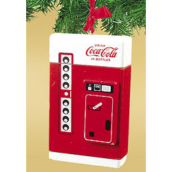 Coke Vending Machine Ornament