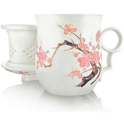 Okura Ume Blossom Infuser Tea Mug