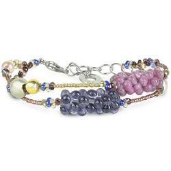 India Divinity Murano Glass Pearl Bracelet