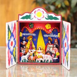Celebrating the Birth Nativity Retablo