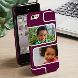 Modern Two Photo iPhone 5 Cell Phone Hardcase