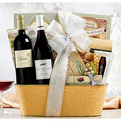 Kiarna Cabernet and Steeplechase Pinot Grigio Gift Basket