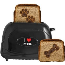 Dog Pawprints Pet Toaster