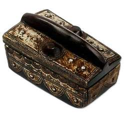 Ghana's Truth Wood Jewelry Box