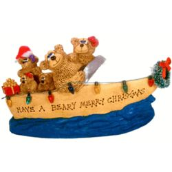 Personalized Teddy Bear Christmas Gift for Boating Family