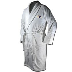 Baltimore Ravens Terrycloth Logo Bathrobe