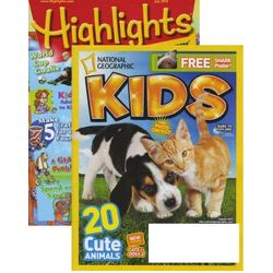 Highlights for Children/National Geographic Kids Magazine Bundle