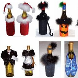 Whimsical Wine Bottle Cover