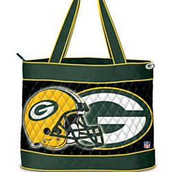 NFL Green Bay Packers Quilted Tote Bag