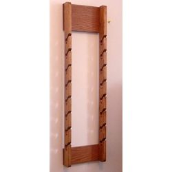 Double Wooden Cap Rack