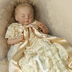 Prince of Cambridge Commemorative Porcelain Baby Doll