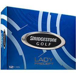Lady's Personalized Precept White Golf Balls