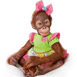 Realistic Mollie Orangutan Toddler Doll