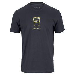 Men's Half Full T-Shirt
