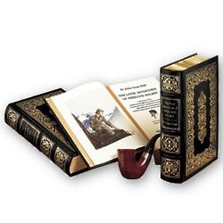 The Complete Sherlock Holmes Leather Bound Book Set