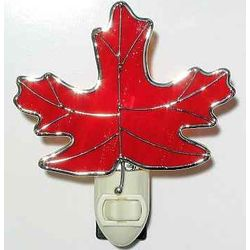 Maple Leaf Night Light