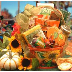 Fall & Thanksgiving Harvest Snacker Gift Basket
