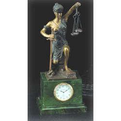 Bey Berk Lady Justice Clock