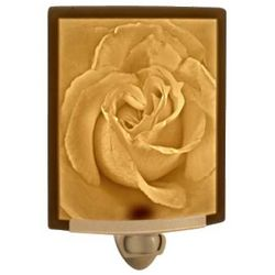 Rose Lithophane Night Light