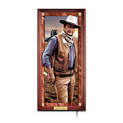 John Wayne - Hero of the West Illuminated Panorama