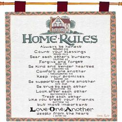 Home Rules Tapestry