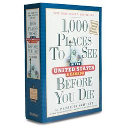 1000 Places To See In The U.S. And Canada Before You Die Book