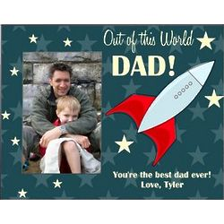 Out of This World Dad Picture Frame