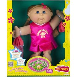 Cabbage Patch Kids Caucasian Blonde Cheerleader
