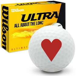 Hearts Ultimate Distance Golf Balls