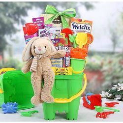 Hoppy Easter Beach Gift Bucket