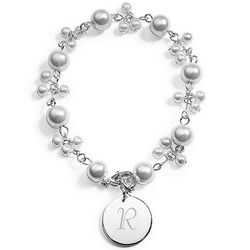 Romance Pearl Personalized Bracelet