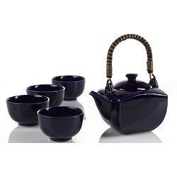 Indigo Teapot Set