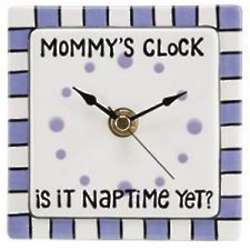 Is It Naptime Mommy Clock