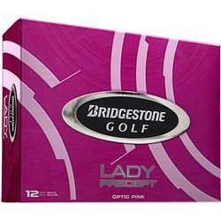 Lady's Personalized Precept Pink Golf Balls