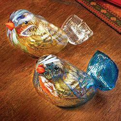 Murano Glass Bird Figurine