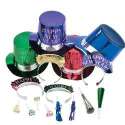 Elegant Celebration New Year's Eve Party Kit for 50