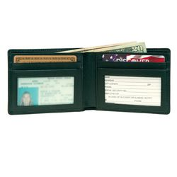 Men's ID Thin Leather Wallet