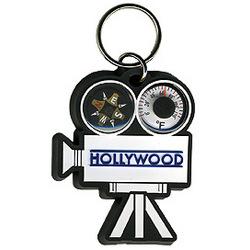 Movie Camera Combo Keychain
