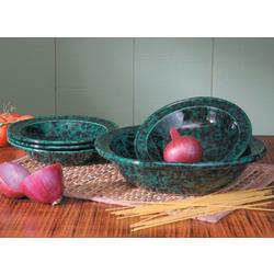 Stoneware Pasta Set