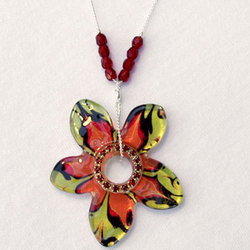 """Sun Kissed"" Pendant Necklace"