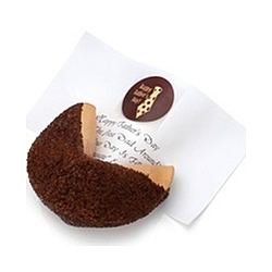 Milk Chocolate Lover's Baby Giant Fortune Cookie