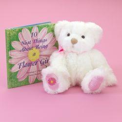 Teddy Bear and Keepsake Book for your Flower Girl