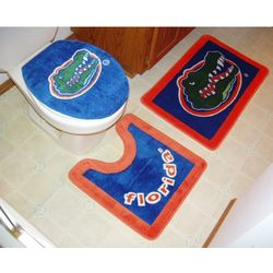 Florida Gators Bathroom Rug Set
